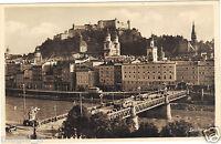 Österreich - Cpsm - Staatsbrücke Salzburg - Altstadt und Salzach (I 470)
