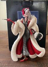 Disney Showcase Couture de Force Cruella De Vil Dalmations #4031541 NIB Retired
