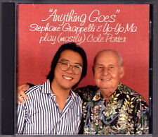 Yo-Yo MA Signed PLAY COLE PORTER Stephane GRAPPELLI Anything Goes So in Love CD