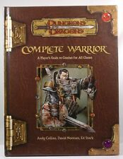 Complete Warrior (Dungeons & Dragons d20 3.5 Fantasy Roleplaying) Stark, Ed, Noo
