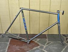 """Vintage 1983 Trek Touring Road Bicycle Bike Frame 24"""" Mens Reynolds 531 Steel"""