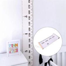 Growth Chart Children Room Decor Wooden Kids Wall Hanging Height Measure Ruler