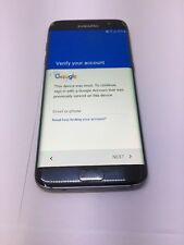 Samsung Galaxy S7 edge SM-G935A - 32GB - Black (AT&T) Smartphone AS IS READ