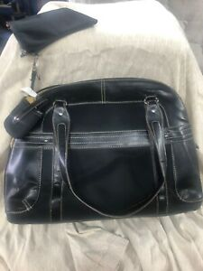 East 5th very sleek Briefcase & Laptop Travel Day Bag with lots of storage.