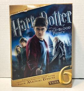 Harry Potter and the Half-Blood Prince (DVD, 2011, 3-Disc Set, Ultimate Edition)