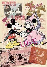 Yanoman Wooden Jigsaw Puzzle 33-22 Disney Mickey & Minnie (300 Small Pieces)