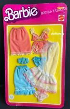 1975 Barbie Best Buy Fashions Lingerie 9163 Mattel NRFP 3 Underwear Sets New