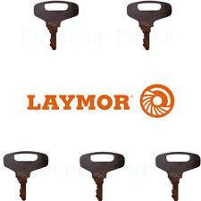 5 Lay Mor Sweepmaster Ignition Keys 8hc 9101528