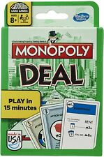 Monopoly Deal Classic Green Package Card Game Parker Brothers Hasbro