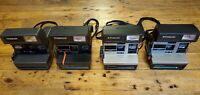 (4)Polaroid Instant Film Flash Cameras (Very Clean) - Polaroid 600 - UNTESTED