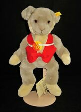 """Steiff 122910 JOLLY HASE Stuffed Bunny Rabbit, New with Tags, Knopf im Ohr 12"""""""