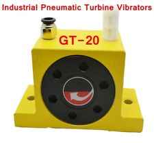 Gt 20 Industrial Type Pneumatic Compressed Air Power Turbine Wheel Type Vibrator