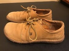 U74 BORN Womens Size 9 / 40.5 W5808 Brown Leather Lace Up Oxford Comfort Shoes