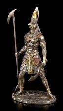 Horus Figur Ägyptischer Gott - Krieger mit Zepter | Dekofigur Veronese