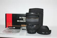 SIGMA EX 24-70mm f/2.8 DG Macro per Pentax 1 anno di garanzia