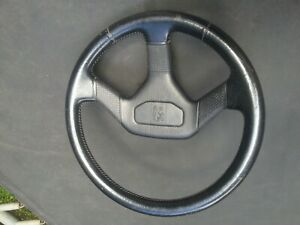 Peugeot 405 leather steering wheel