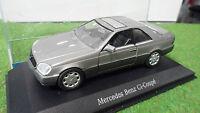 MERCEDES BENZ 600 SEC CL-Coupé Gris 1/43 SCHABAK 1270 voiture miniature
