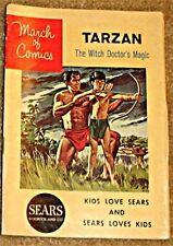 MARCH OF COMICS 240 TARZAN RARE GIVEAWAY PROMO F 1962 MINI PROMOTION POLL PAROT
