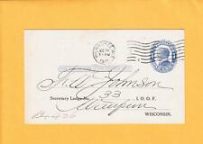 IOOF 1911 Milwaukee Grand Lodge Wisconsin R Hoe Sectý I.O.O.F. LOGO Reports z33