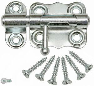 Bolzenriegel Schloßriegel Türriegel  Schubriegel 40 mm Schieberiegel Verzinkt