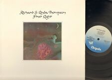 RICHARD & and LINDA THOMPSON First Light LP 1978 USA Relatd Fairport Convention
