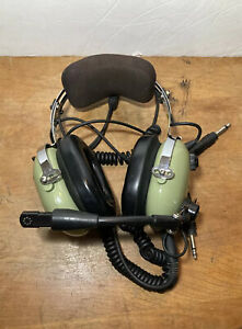 David Clark H10-60 Aviation Headset USED in Great Condition