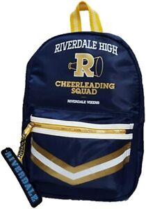 Riverdale High Cheerleading Squad Blue Rucksack Bag Pack For Womens