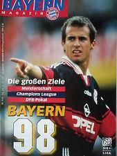 Programm 1997/98 FC Bayern München - Mönchengladbach
