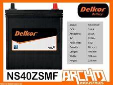 DELKOR BATTERY - CALCIUM NS40ZSMF - CCA 310 A 35 AH SAE LHP - MAINTENANCE FREE