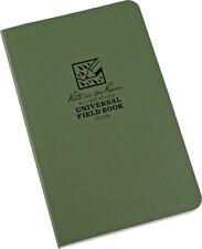 "Rite in the Rain Field Flex Bound Notebook 64 Sheets Green 4.62"" x 7.25"""