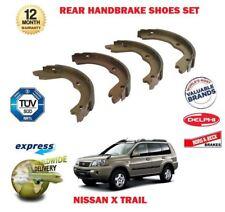 Para Nissan X Trial Interstar 2001-2007 Nuevo Posterior Freno De Mano Shoe Set