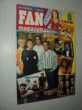 FAN MAGAZYN 06 (4/97) BSB BACKSTREET BOYS RICKY MARTIN GEORGE CLOONEY B PITT