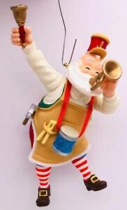2010 Toymaker Santa Hallmark Ornament #11 Horn Band Orchestra