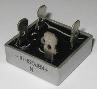 50 A 1000 V Bridge Metal Case Rectifier - 1000V 50A Diode Bridge KBPC50-10