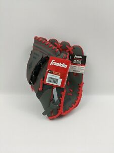 Franklin Sports Teeball Web Shok-Sorb Combo Series Fielding Left Hand Glove Red