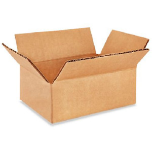200 6x3x2 Cardboard Paper Boxes Mailing Packing Shipping Box Corrugated Carton