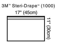 "3M Steri-Drape, Small Towel Drape, 17"" x 11"", 10/Bx, 3M1000"