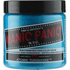 Atomic Turquoise Blue Manic Panic Vegan 4 Oz Hair Dye Color