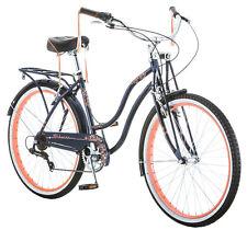 "26"" Schwinn Condesa Women's Cruiser Bike Blue Beach 7 Speed Bicycle Outdoor Ride"