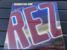 REZ/RESURRECTION BAND Best of Rez Music to Raise the Dead LP Unopened Sealed