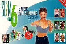 Beachbody slim in 6 by debbie siebers DVD BOX SET NEW beach body express