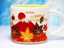+ STARBUCKS City Mug + JAPAN Autumn + YOU ARE HERE YAH + NEU + Tasse