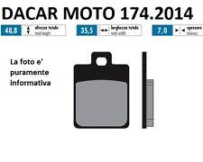 174.2014 PLAQUETTE DE FREIN SINTERED POLINI VESPA 125 S 3V c.-à- à partir 2012->
