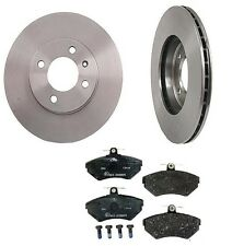 Volkswagen Golf 93-99 L4 2.0L Brembo Front Brake Kit with Pads and Rotors
