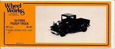 HO - WHEEL WORKS #96-101 / '34 FORD PICKUP TRUCK - KIT