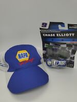 Napa Racing Chase Elliott 9 NASCAR Mesh Trucker Hat PLUS 2019 Daytona 500 Car