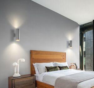 Outdoor Waterproof UP&DOWN Light Modern Sconce  Garden Bedroom LED Wall Lamp UK