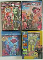Monster High DVD & Blu Ray Brand New Save big with this lot of sealed movies!