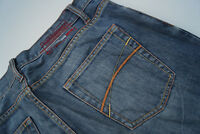 TOM TAILOR Herren Men Jeans Hose 33/34 W33 L34 stone wash blau 1k