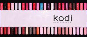 Kodi Professional Rubber Base Top Gel LED/UV Nail Polish Professional Color